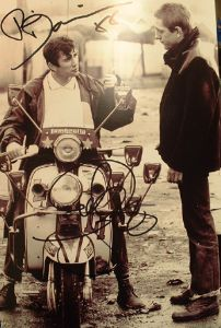 A175 - Quadrophenia reunion Signed 10x8 photo by PHIL DANIELS